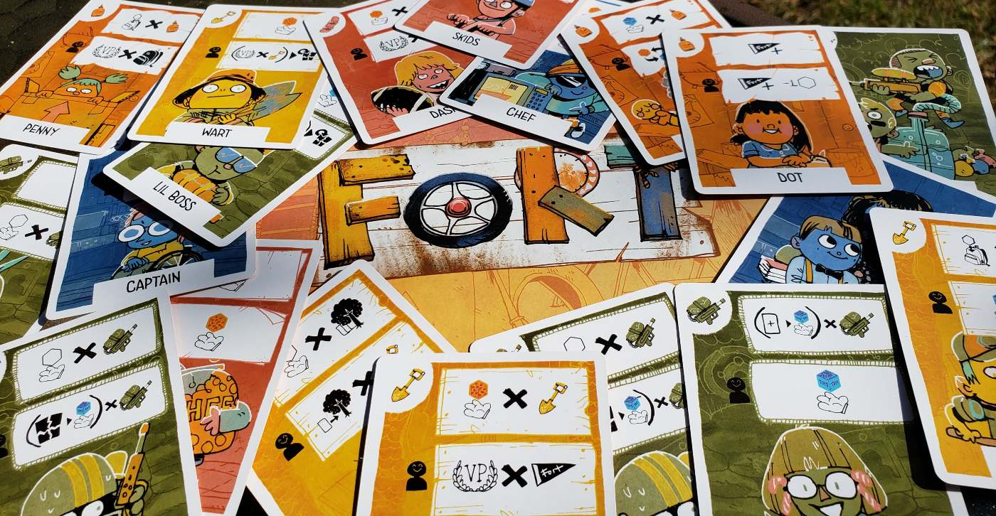 FORT kid cards