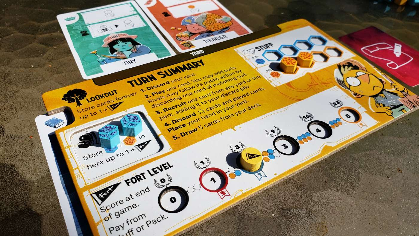 FORT player board