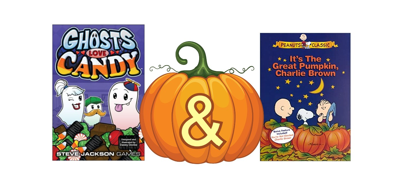 Ghosts Love Candy and The Great Pumpkin Charlie Brown