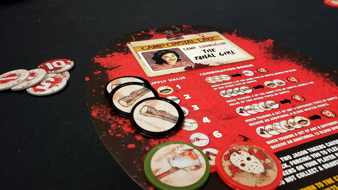 Friday the 13th player board