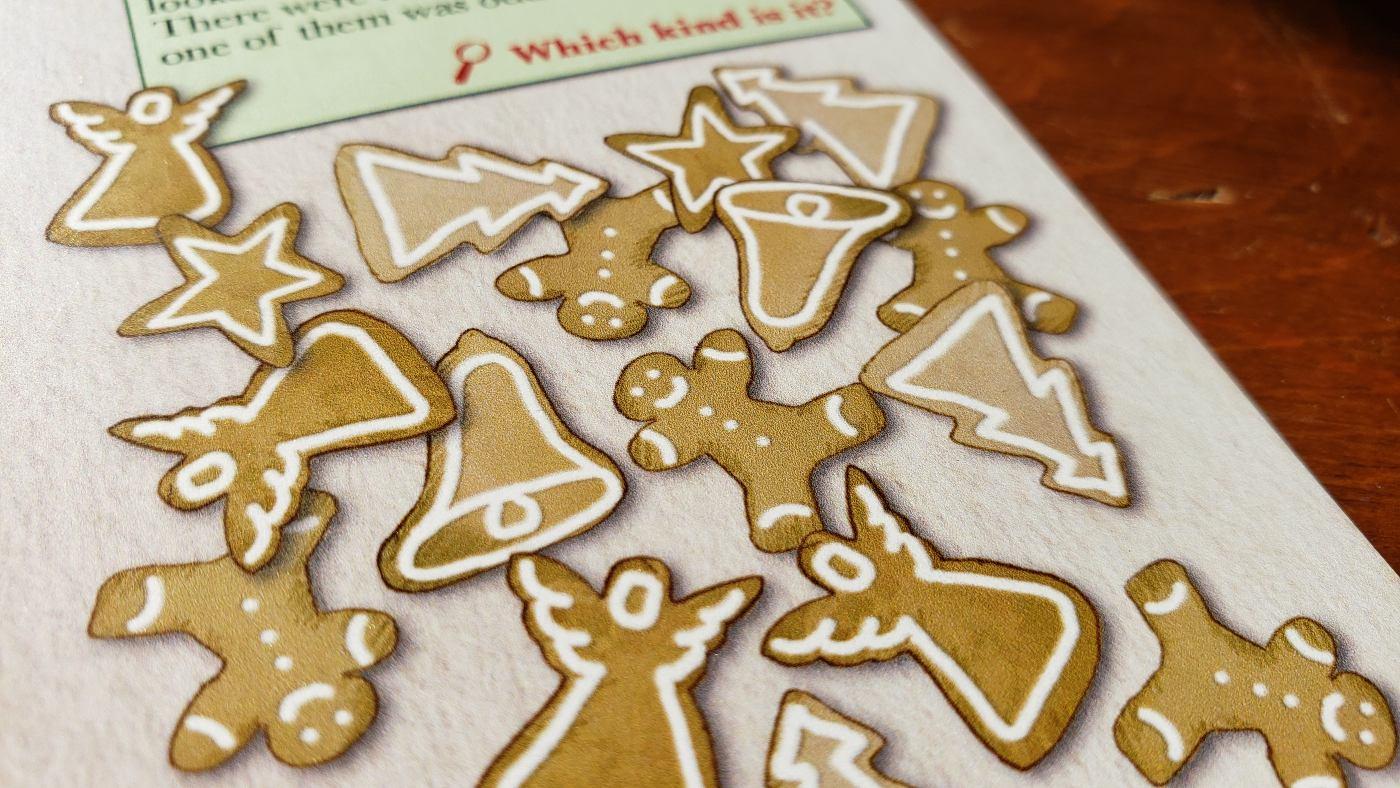 The Kringle Caper cookies
