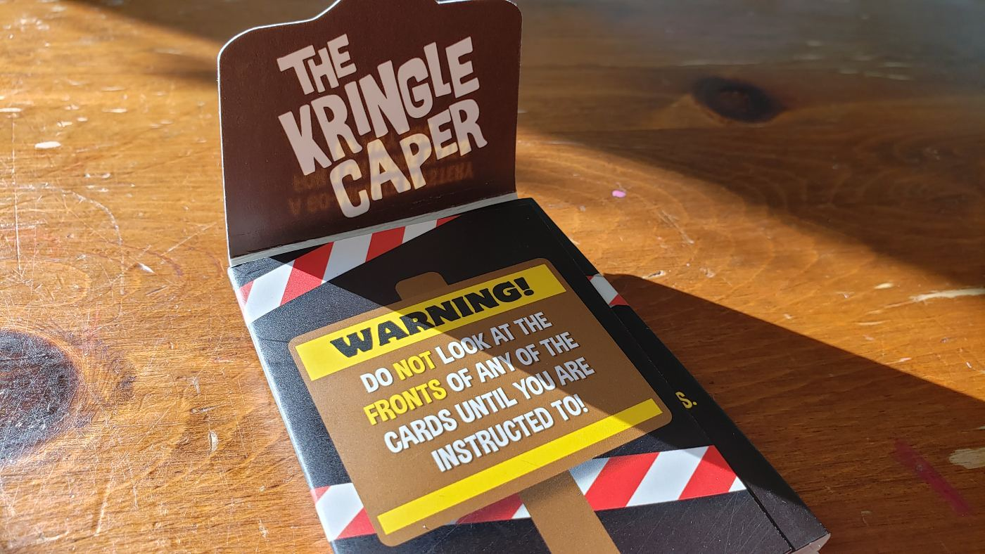 The Kringle Caper package