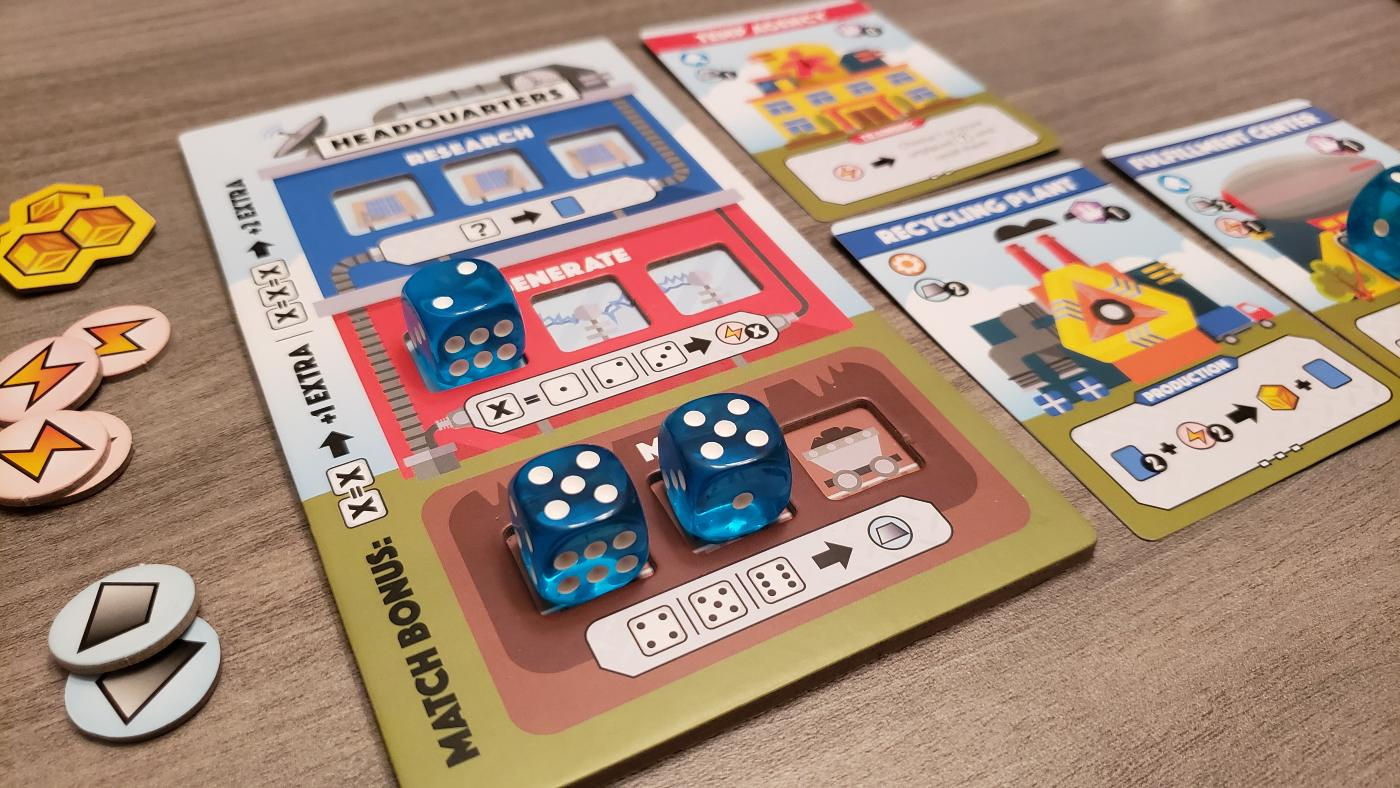 Fantastic Factories from Deep Water Games