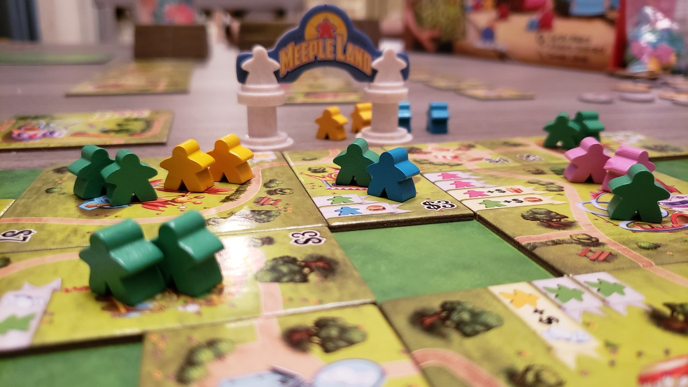 Meeple Land by Blue Orange Games