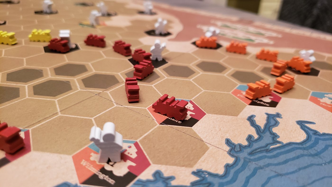 Ride the Rails from Capstone Games