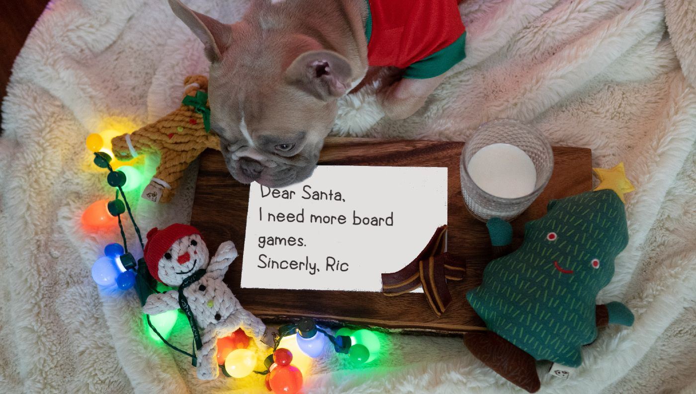 Ric's 2020 Christmas Wish List