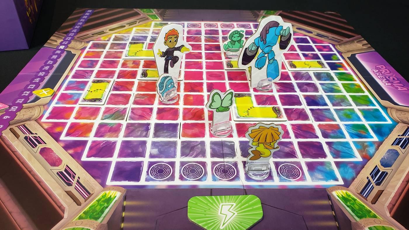 Prisma Arena battle