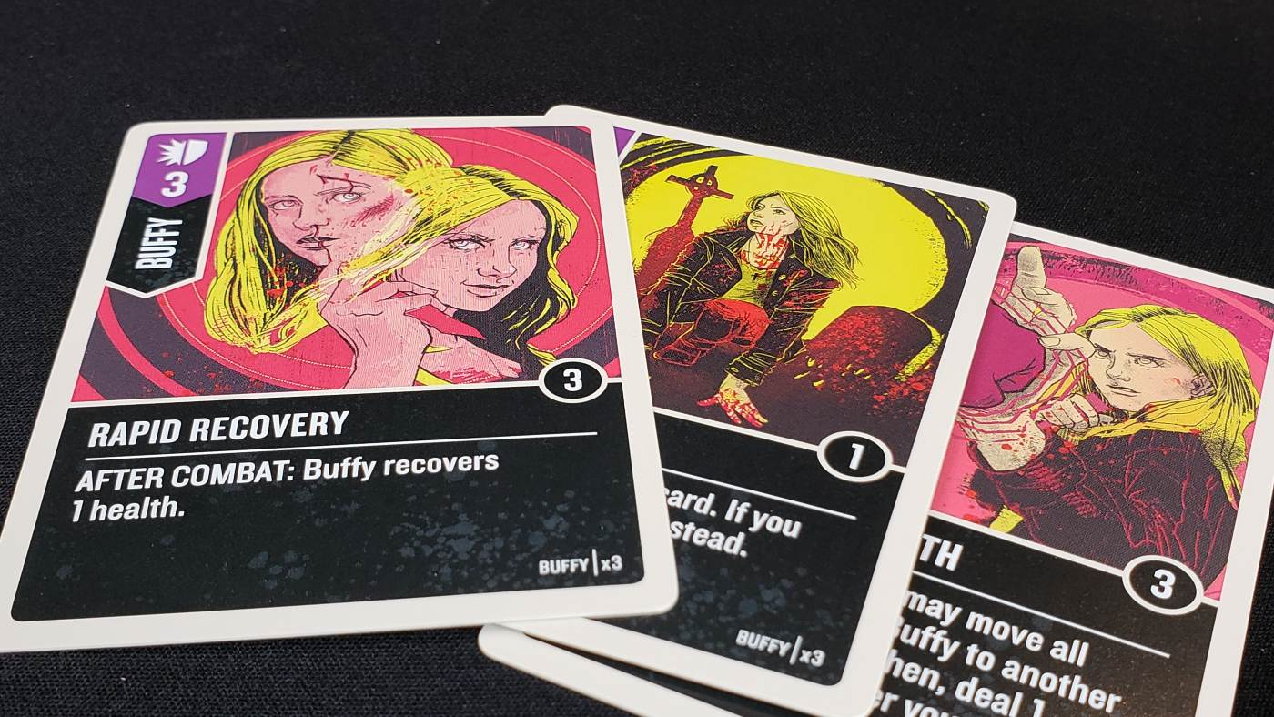 Unmatched: Buffy the Vampire Slayer Buffy cards