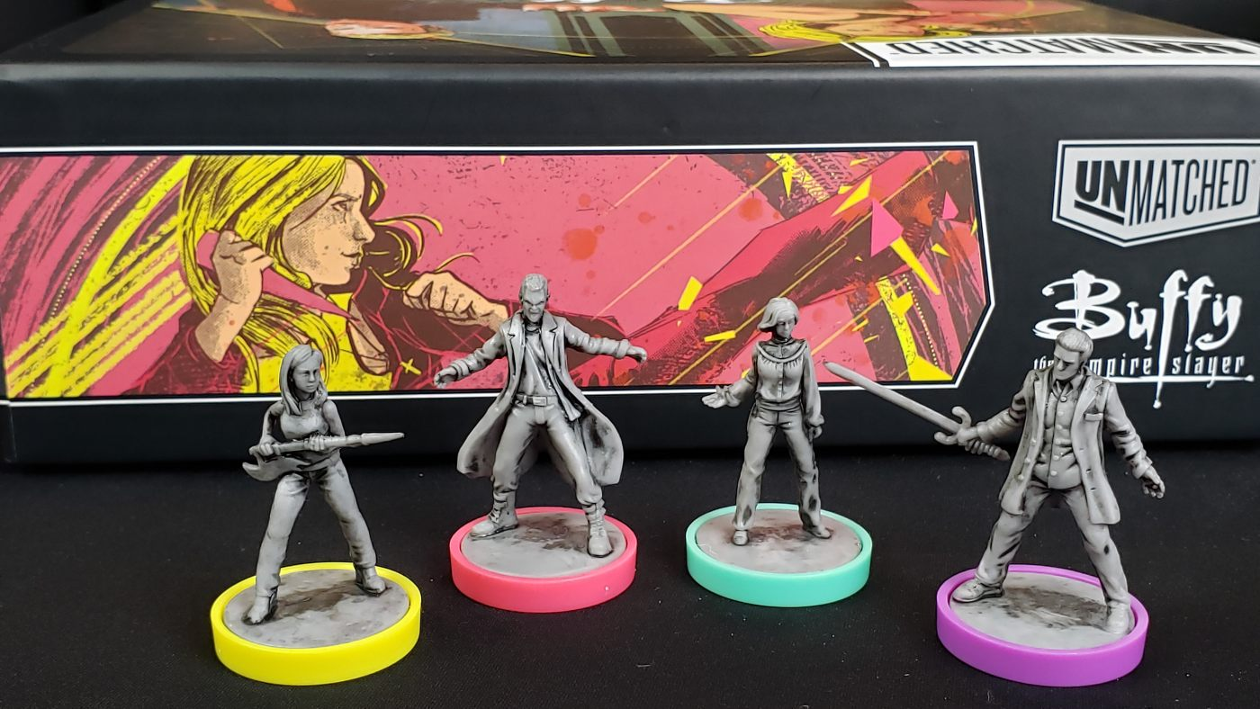 Unmatched: Buffy the Vampire Slayer miniatures