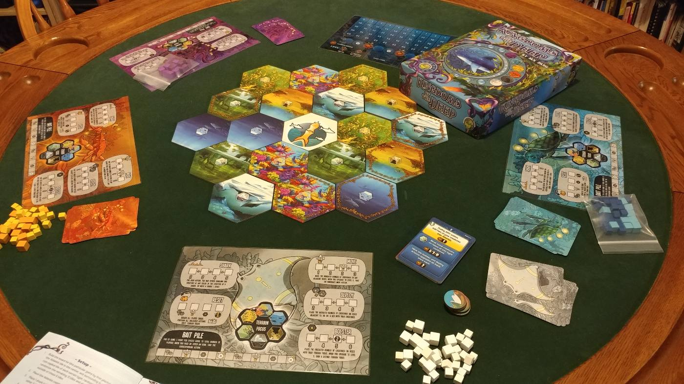 Kingdoms of the Deep components