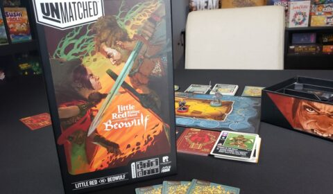 Unmatched: Little Red Riding Hood VS Beowulf Review