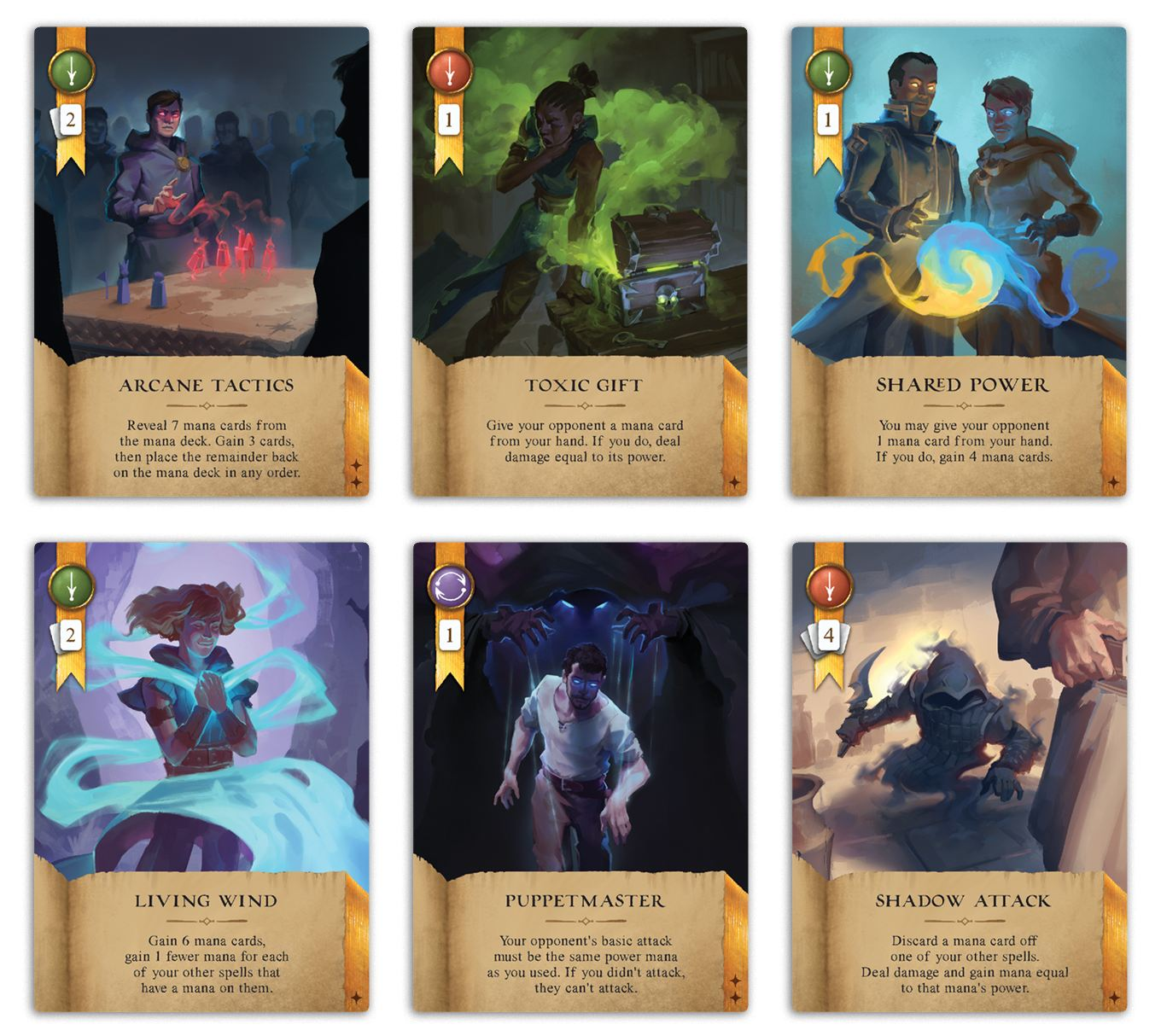 Wizards of the Grimoire cards