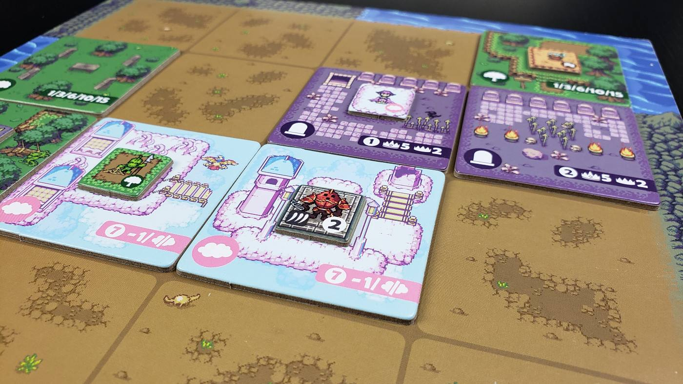 Overboss 4 x 4 player board