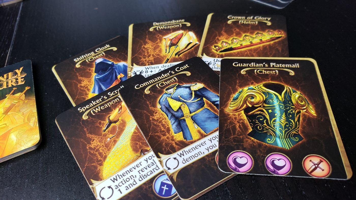 Deliverance Heavenly Treasure cards