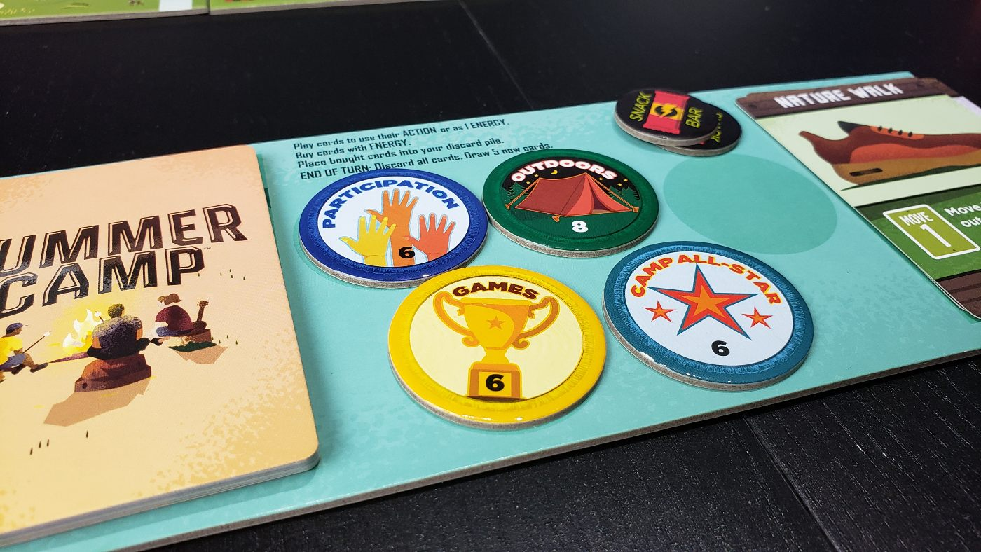 Summer Camp player board