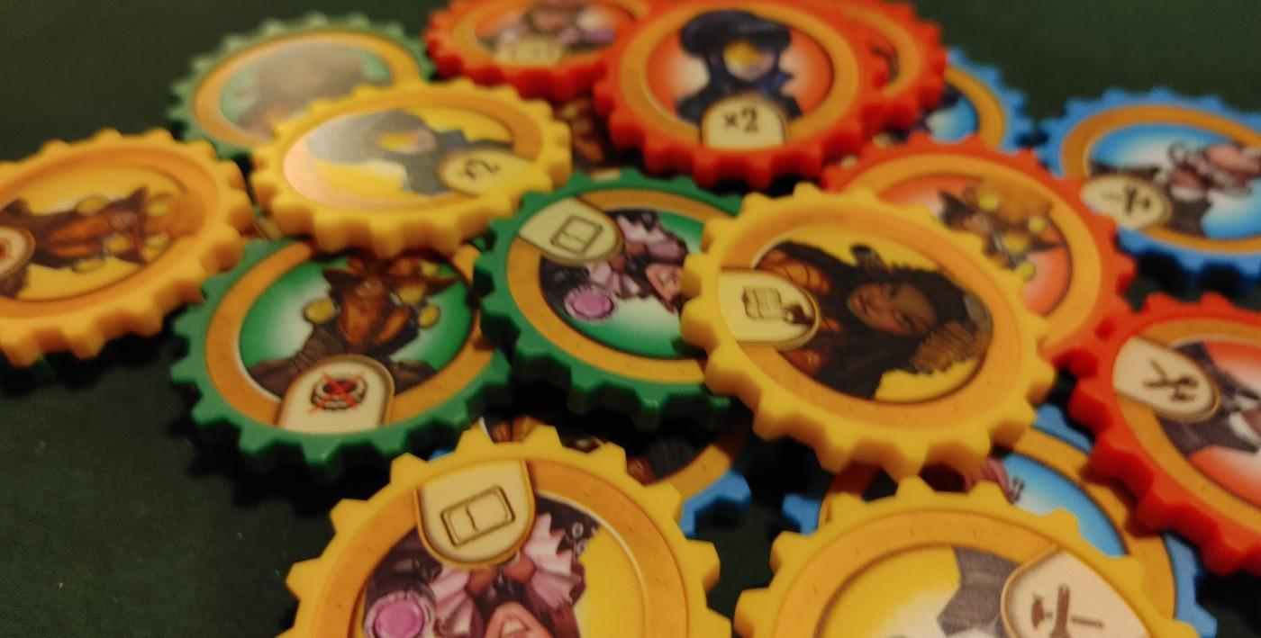 Victorian Masterminds cog tokens
