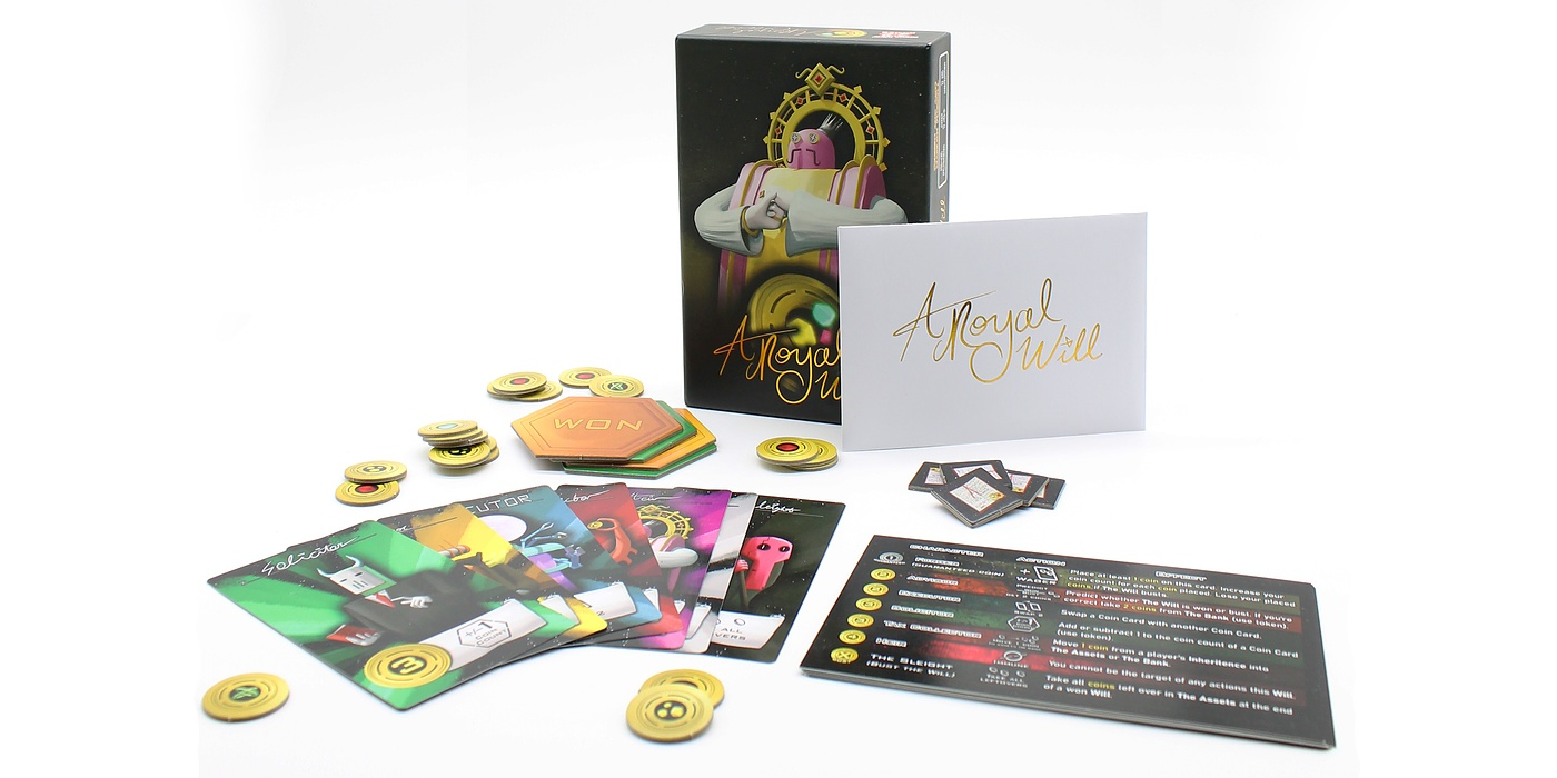 A Royal Will components