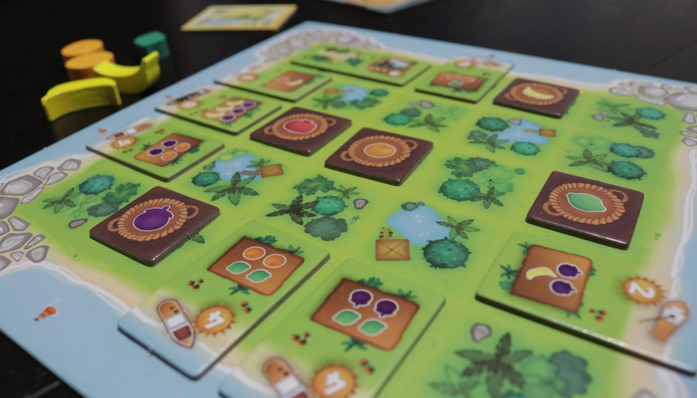 Juicy Fruits island board