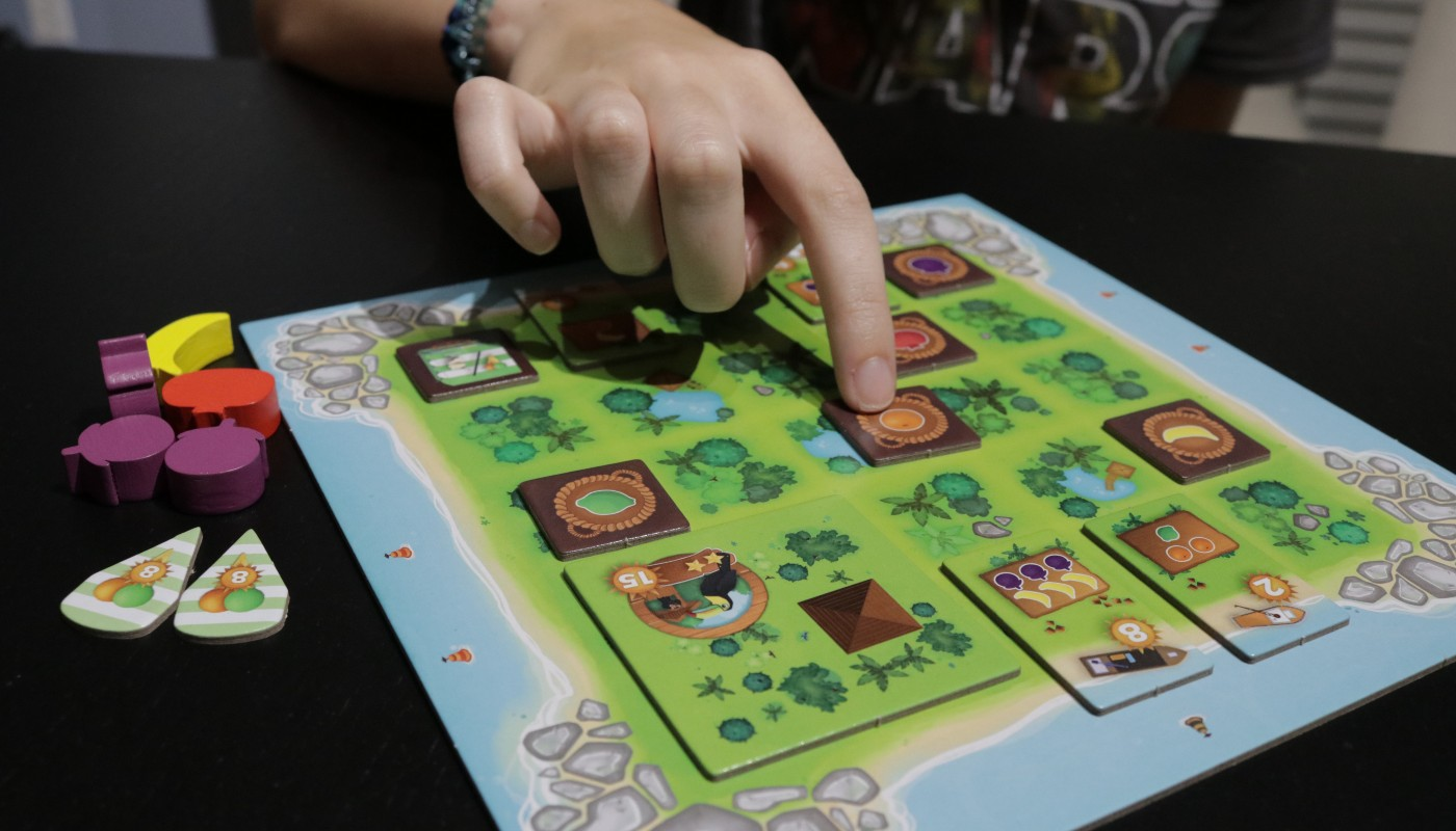 Juicy Fruits slide puzzle