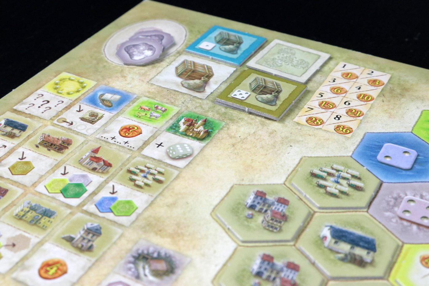 Castles of Burgundy shipping