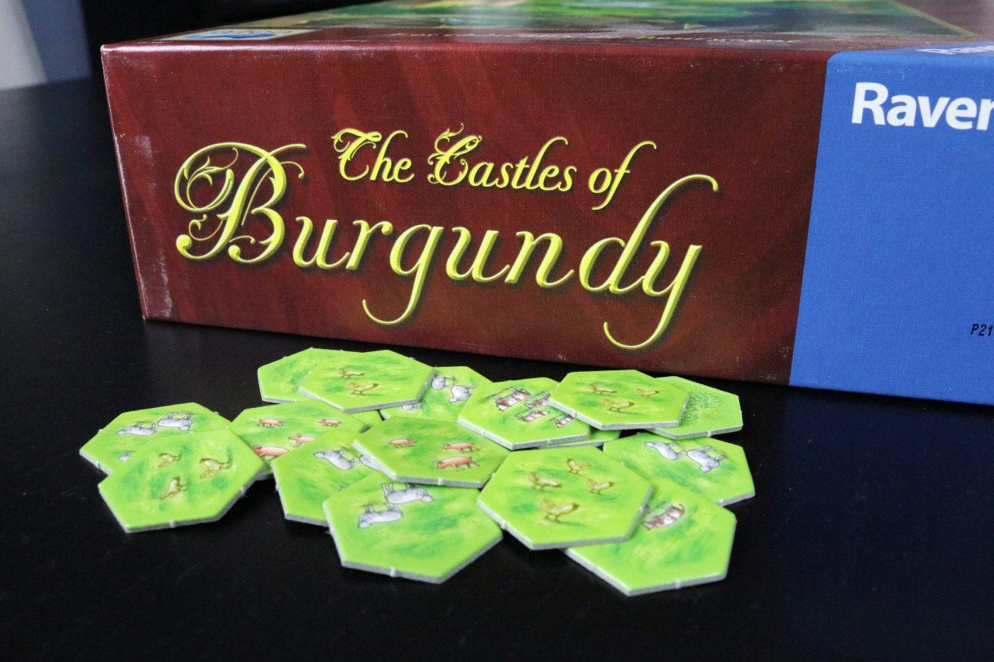 Castles of Burgundy tiles