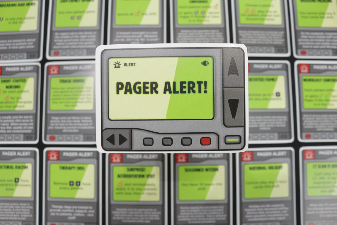Critical Care pager alerts