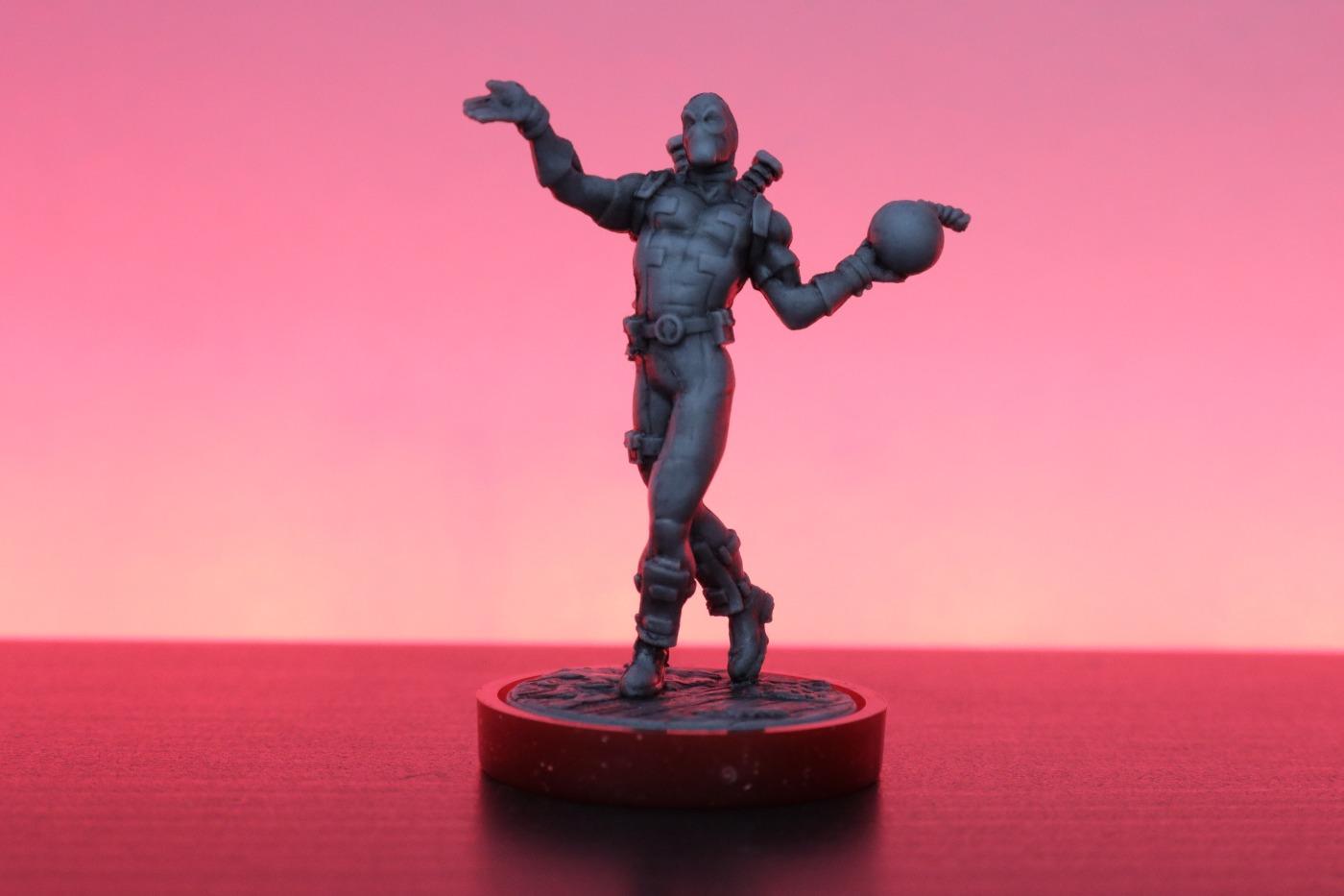 Unmatched: Deadpool miniature